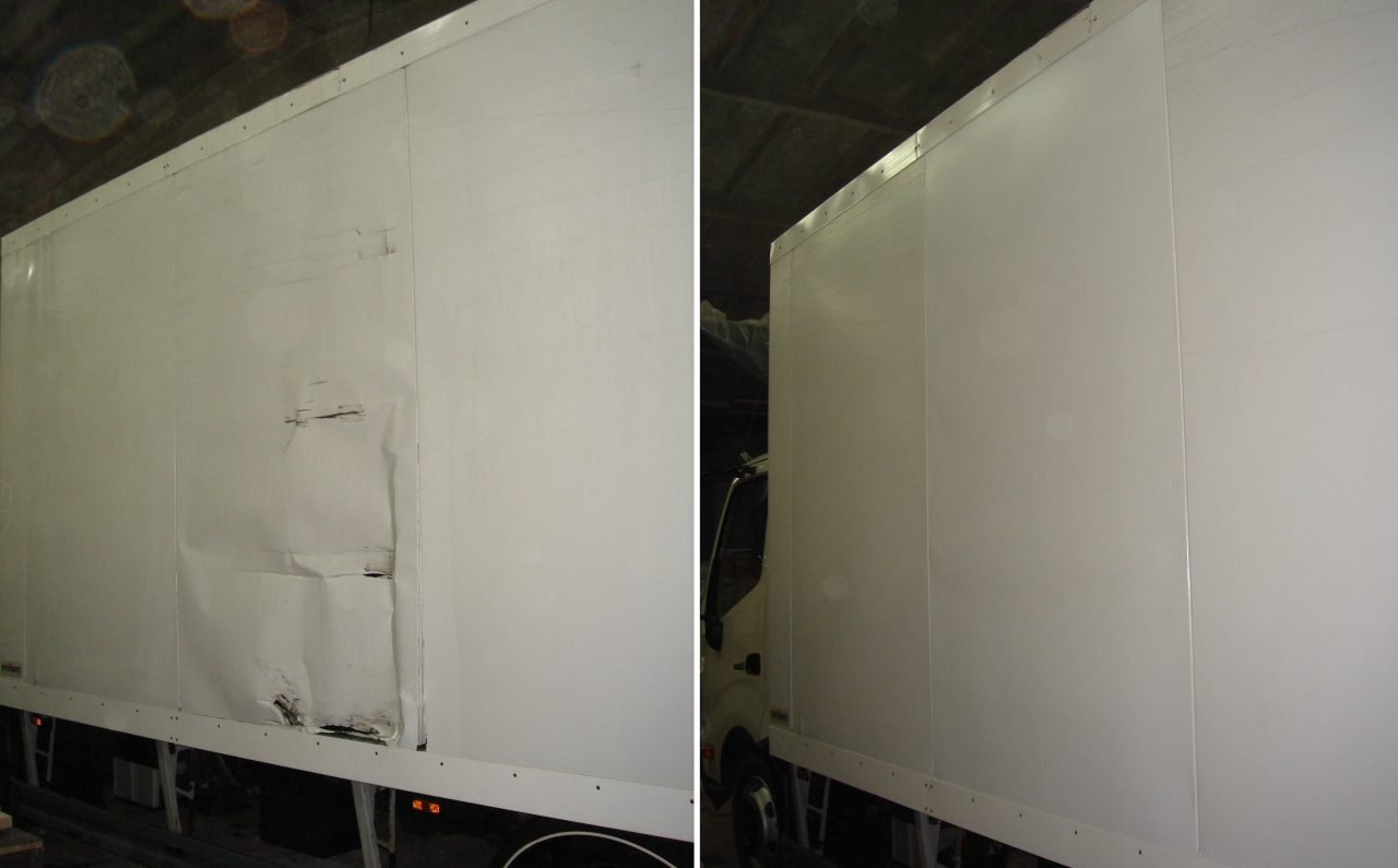 ремонт будок фургона 6