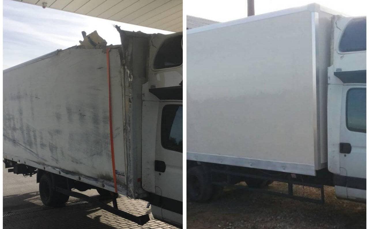ремонт будок фургона 4